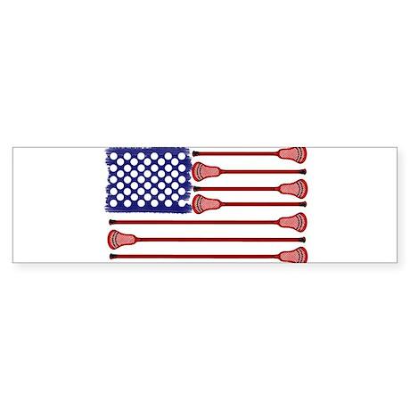 Lacrosse AmericasGame Sticker (Bumper)