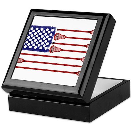 Lacrosse AmericasGame Keepsake Box
