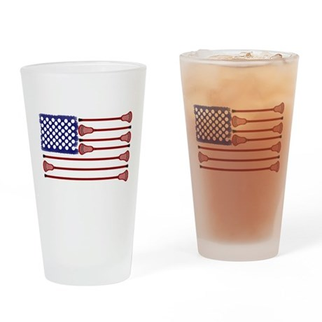 Lacrosse AmericasGame Drinking Glass