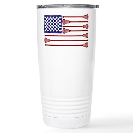 Lacrosse AmericasGame Stainless Steel Travel Mug