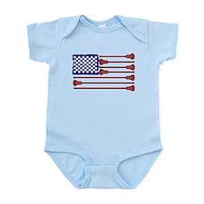 Lacrosse AmericasGame Infant Bodysuit