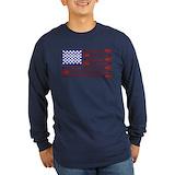 Lacrosse Long Sleeve T-shirts (Dark)
