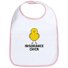 Insurance Chick Bib