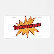 Boomsauce - Explosion Aluminum License Plate