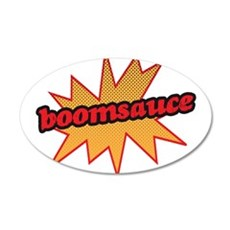 Boomsauce - Explosion 22x14 Oval Wall Peel