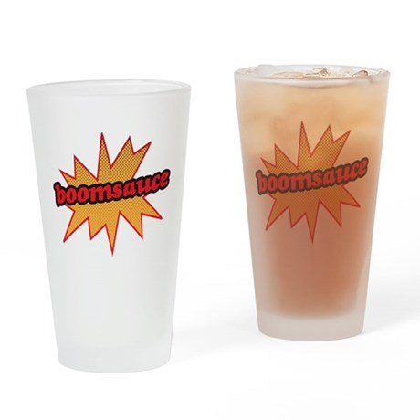 Boomsauce - Explosion Drinking Glass