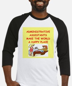 administrative assistant Baseball Jersey