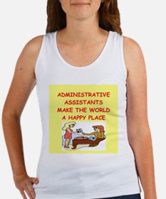 administrative assistant Women's Tank Top