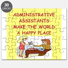 administrative assistant Puzzle