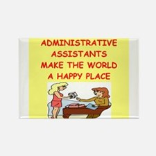 administrative assistant Rectangle Magnet (100 pac