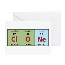 Chemistry Clone Greeting Cards (Pk of 10)