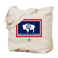 Geocache Wyoming Tote Bag
