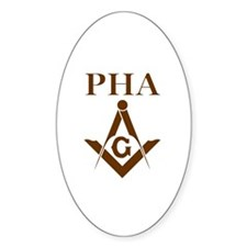 Prince Hall Square and Compass Decal