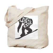 Live to Ride1 Tote Bag