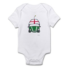 Little Green Car Infant Bodysuit