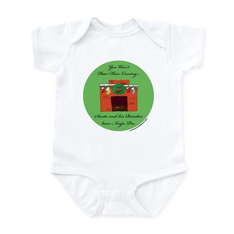Santa's Ninja Pro Infant Bodysuit