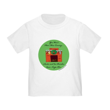 Santa has Ninja Pro Toddler T-Shirt