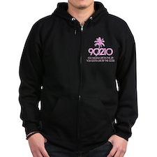 90210 Zip Hoodie