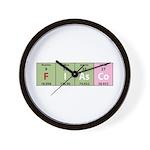Chemistry Fiasco Wall Clock