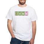 Chemistry Fiasco White T-Shirt