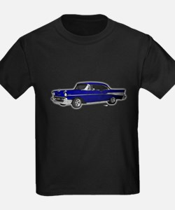 1957 Chevy Dark Blue T
