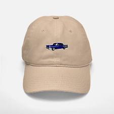 1957 Chevy Dark Blue Baseball Baseball Cap