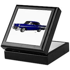 1957 Chevy Dark Blue Keepsake Box