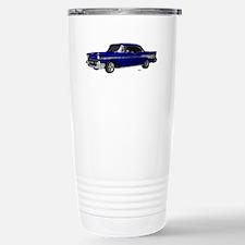 1957 Chevy Dark Blue Travel Mug