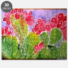 Cactus, Southwest, art, Puzzle