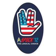 Spock for President Decal