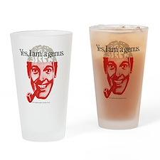 Genius Drinking Glass
