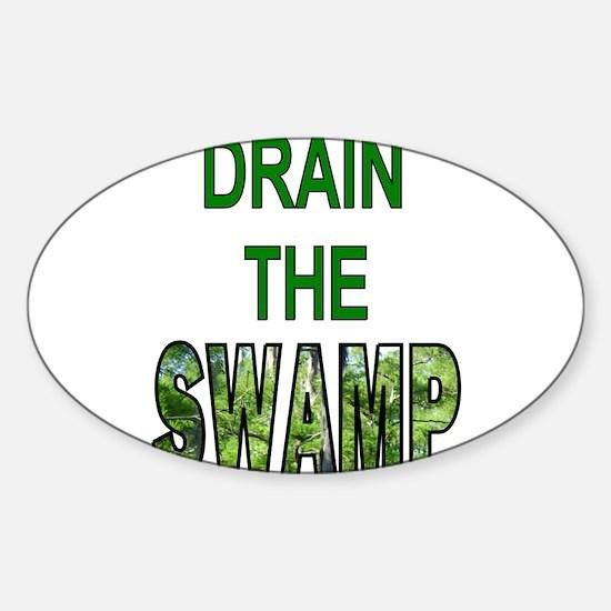 Drain The Swamp Bumper Stickers