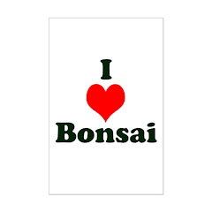 I Love Bonsai Posters