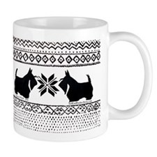 Scottish Terrier Holiday Swea Mug