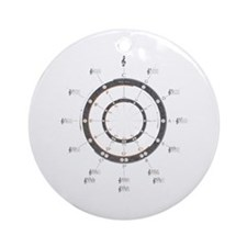 Circle of Fifths Ornament (Round)