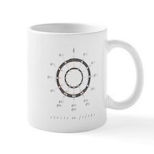 Circle of Fifths Small Mugs