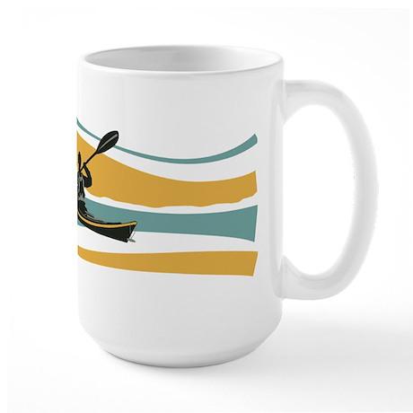 Kayak Sunrise Large Mug