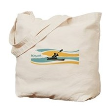 Kayak Sunrise Tote Bag