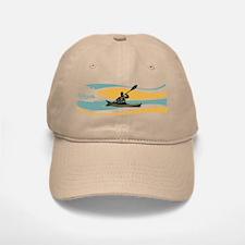 Kayak Sunrise Baseball Baseball Cap