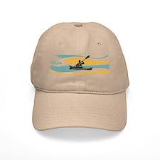 Kayak Sunrise Baseball Cap