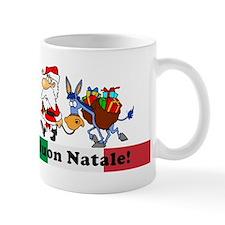Santa Walking Dominick Small Mug