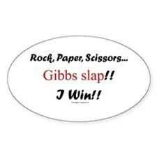 Gibbslaped I Win!! Decal