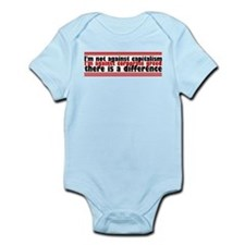 I'm Against Corporate Greed Infant Bodysuit