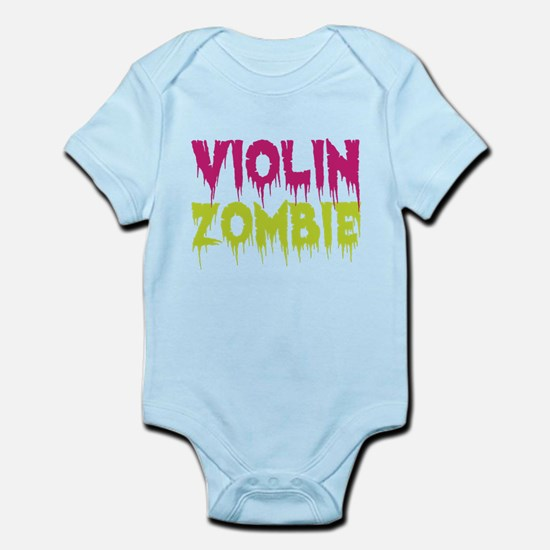 Violin Zombie Infant Bodysuit