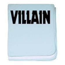 Villain baby blanket