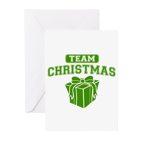 Green Team Christmas Greeting Cards (10 pack)