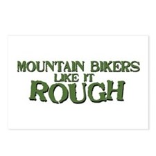 Mt. Bikers Like it Rough Postcards (Package of 8)