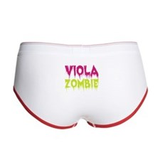 Viola Zombie Women's Boy Brief