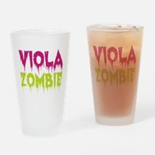 Viola Zombie Drinking Glass