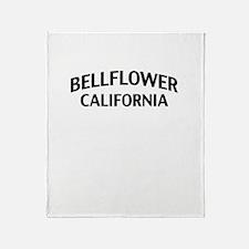 Bellflower California Throw Blanket